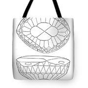 Koh-i-noor Diamond Tote Bag