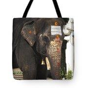 Lakshmi Temple Elephant Tote Bag