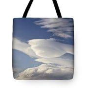Lenticular Clouds Tote Bag