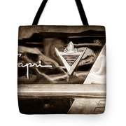 Lincoln Capri Emblem Tote Bag