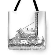 Locomotive Rocket, 1829 Tote Bag