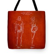Manikin For Teaching Obstetrics And Midwifery Patent From 1951 - Tote Bag