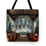 Minster Abbey Tote Bag