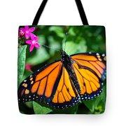 Monarch Danaus Plexippus Tote Bag