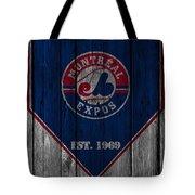 Montreal Expos Tote Bag