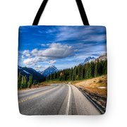 Mountain Views Tote Bag
