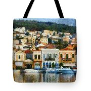 Mytilini Port Tote Bag