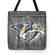 Nashville Predators Tote Bag