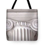 Neoclassical Ionic Architectural Details Tote Bag