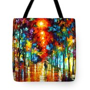 Night Park Tote Bag