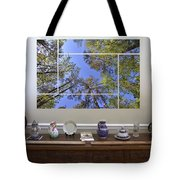 5-panel - A Forest Sky Tote Bag