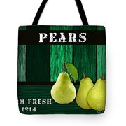 Pear Farm Tote Bag