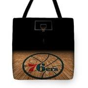 Philadelphia 76ers Tote Bag