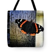 Phoenician Butterfly Tote Bag