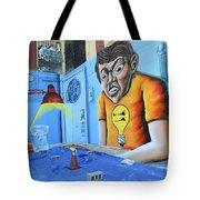 5 Pointz Graffiti Art 5 Tote Bag