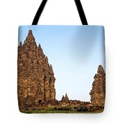 Prambanan Temple In Indonesia Tote Bag