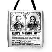Robert Houdin (1805-1871) Tote Bag