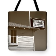 Route 66 - Lucille's Gas Station Tote Bag