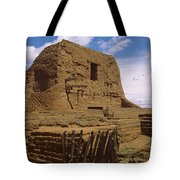 Ruins Of The Pecos Pueblo Mission Tote Bag