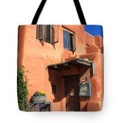 Santa Fe Adobe Building Tote Bag