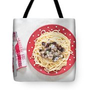 Sardines And Spaghetti Tote Bag by Tom Gowanlock