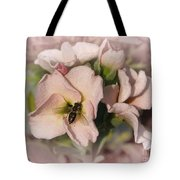 Single Peach Stocks From The Vintage Mix Tote Bag