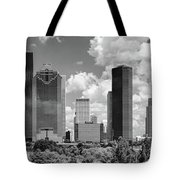 Skyscrapers In A City, Houston, Texas Tote Bag