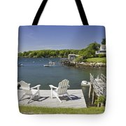 South Bristol On The Coast Of Maine Tote Bag