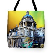 St Pauls Cathedral London Art Tote Bag