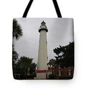 St Simons Island Lighthouse Tote Bag