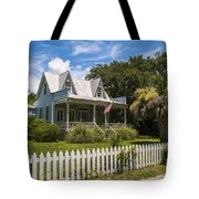 Sullivan's Island Tin Roof Story Book Cottage Tote Bag