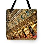 Temple In Grand Palace Bangkok Thailand Tote Bag