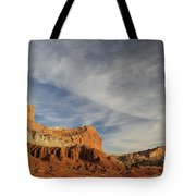 The Castle, Capitol Reef National Park Tote Bag