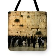 The Wailing Wall Tote Bag