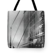 Triangle Factory Fire Tote Bag