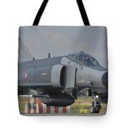 Turkish Air Force F-4 Phantom At Konya Tote Bag