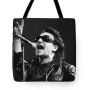 U2 - Bono Tote Bag