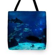 Underwater View Tote Bag