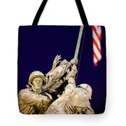 Us Marine Corps Memorial Tote Bag