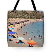 Vai Beach Tote Bag