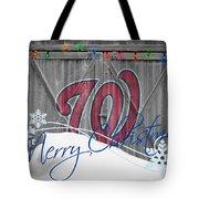 Washington Nationals Tote Bag