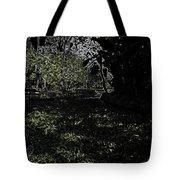 Weeds And Plants In A Coastal Saltwater Creek Tote Bag