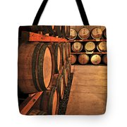 Wine Barrels Tote Bag by Elena Elisseeva