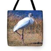 Woodstork Tote Bag