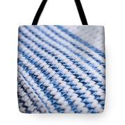 Wool Pattern Tote Bag
