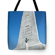 Wright Brothers National Memorial Tote Bag