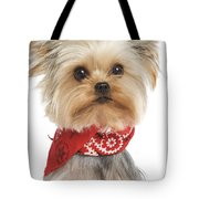 Yorkshire Terrier Dog Tote Bag