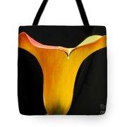 Zantedeschia Named Flame Tote Bag