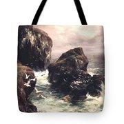Cliffside Herd Tote Bag