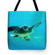 Green Submarine Tote Bag